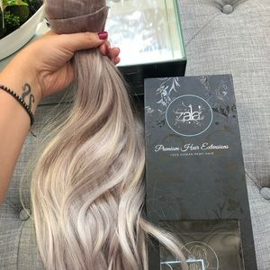 Zala seamless clip in hair extensions